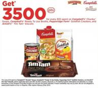 Campbell's Chunky Soups - Campbell's Ready To Use Broths - Pepperidge Farm Goldfish Crackers - and Arnott's Tim Tam Biscuits