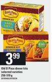 Old El Paso Dinner Kits - 250-510 g