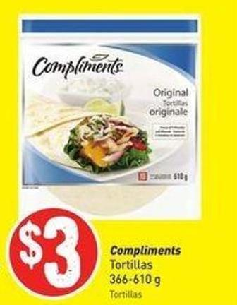 Compliments Tortillas 366-610 g