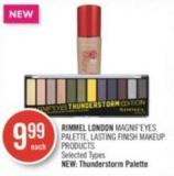 Rimmel London Magnif'eyes Palette - Lasting Finish Makeup Products