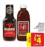 Diana or Bull's-eye Bbq Sauce