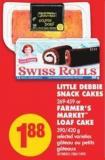 Little Debbie Snack Cakes - 269-459 Or Farmer's Market Loaf Cake - 390/420 g