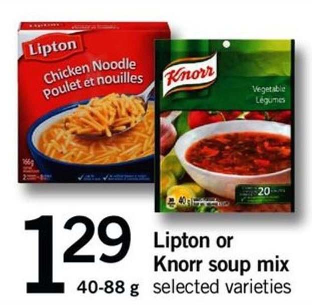 Lipton Or Knorr Soup Mix - 40-88 G
