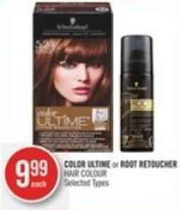 Color Ultime or Root Retoucher Hair Colour