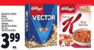 Special K Or Vector Cereal 300 - 553 g
