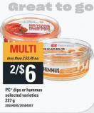 PC Dips Or Hummus - 227 g