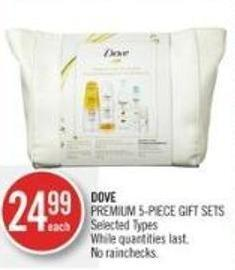 Dove Premium 5-piece Gift Sets