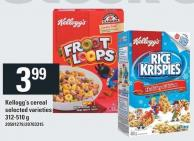 Kellogg's Cereal - 312-510 G