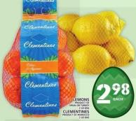Lemons Or Clementines