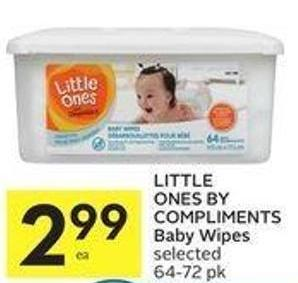 Little Ones By Compliments Baby Wipes
