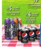 Pepsi Mini Cans - 6x222 mL