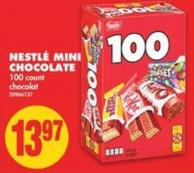 Nestlé Mini Chocolate - 100 Count