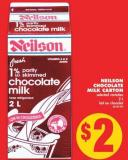 Neilson Chocolate Milk Carton - 2 L