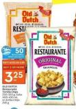 Old Dutch Restaurante Tortilla Chips 250-320 g - Salsa 400-430 mL or Arriba Chips 245 g  50 Air Miles Bonus Miles