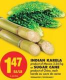 Indian Karela or Sugar Cane