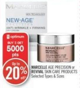 Marcelle Age Precision or Revival Skin Care Products