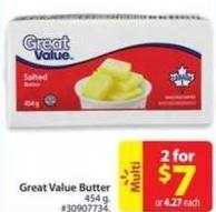 Great Value Butter