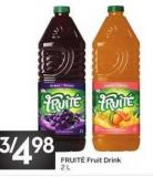 Fruité Fruit Drink