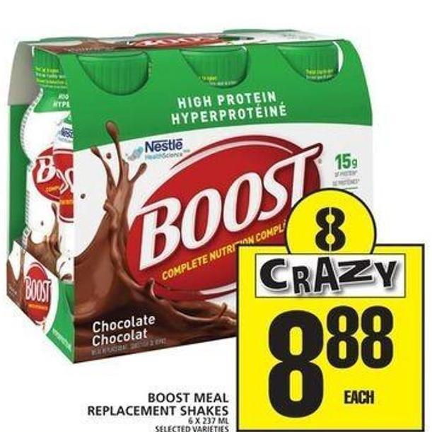 Boost Meal Replacement Shakes