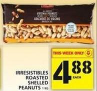 Irresistibles Roasted Shelled Peanuts