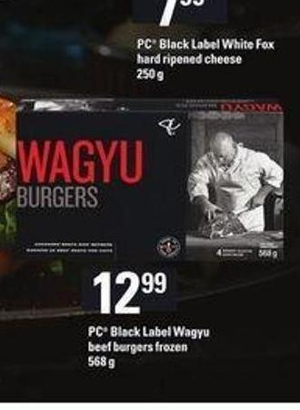 PC Black Label Wagyu Beef Burgers - 568 g