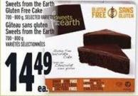 Weets From The Earth Gluten Free Cake