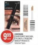 Covergirl Exhibitionist Mascara - Eyeliner or Trublend Makeup Products