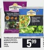 Earthbound Salad Kits - 312 G