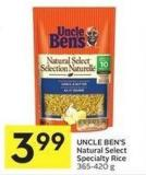 Uncle Ben's Natural Select Specialty Rice