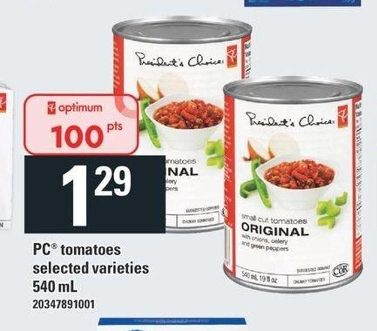 PC Tomatoes - 540 mL