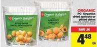 PC Organics Dried Apricots Or Pitted Dates - 250 g
