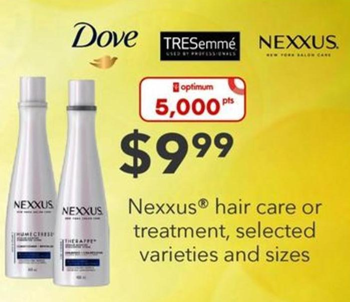 Nexxus Hair Care Or Treatment