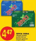 Zevia Soda - 6x335/355 mL