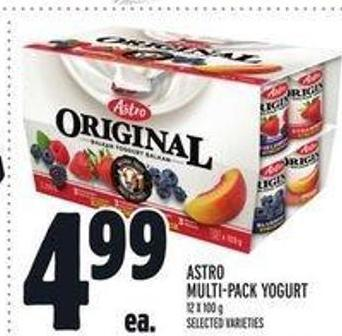 Astro Multi‑pack Yogurt