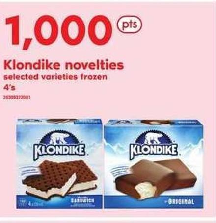Klondike Novelties - 4's