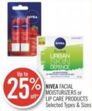 Nivea Facial Moisturizers or Lip Care Products