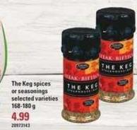 The Keg Spices Or Seasonings - 168-180 g
