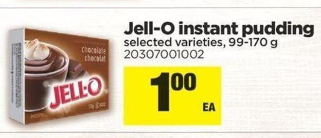 Jell-o Instant Pudding - 99-170 g
