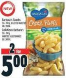 Barbara's Snacks 155 - 198 g