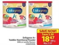 Enfagrow A+ Toddler Nutritional Powder