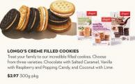 Longo's Creme Filled Cookies 300 g
