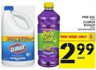 Pine-sol Or Clorox Bleach