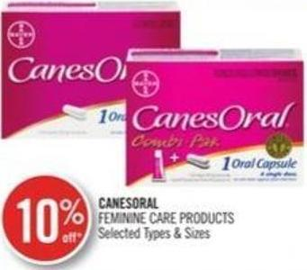 Canesoral Feminane Care Products