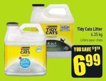 Tidy Cats Litter 6.35 Kg