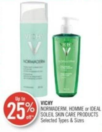 Vichy Normaderm - Homme or Ideal Soleil Skin Care Products