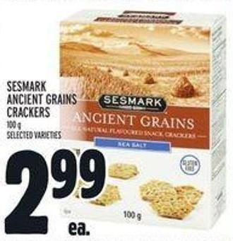 Sesmark Ancient Grains Crackers