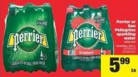 Perrier Or San Pellegrino Sparkling Water - 6x1 L