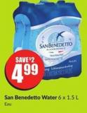 San Benedetto Water 6 X 1.5 L