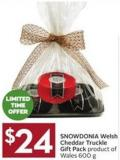 Snowdonia Welsh Cheddar Truckle Gift Pack