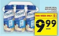 Ensure Meal Replacement 6 X 235 Ml